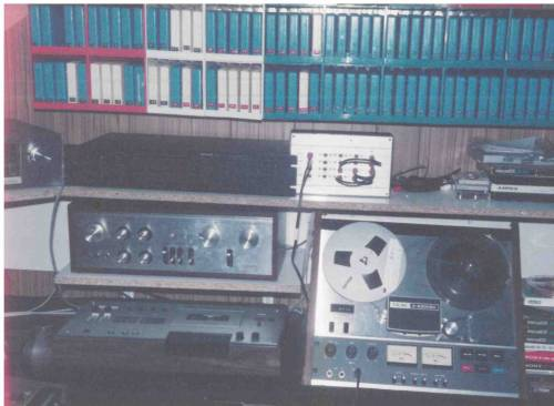 FRS studio with 8-tracks